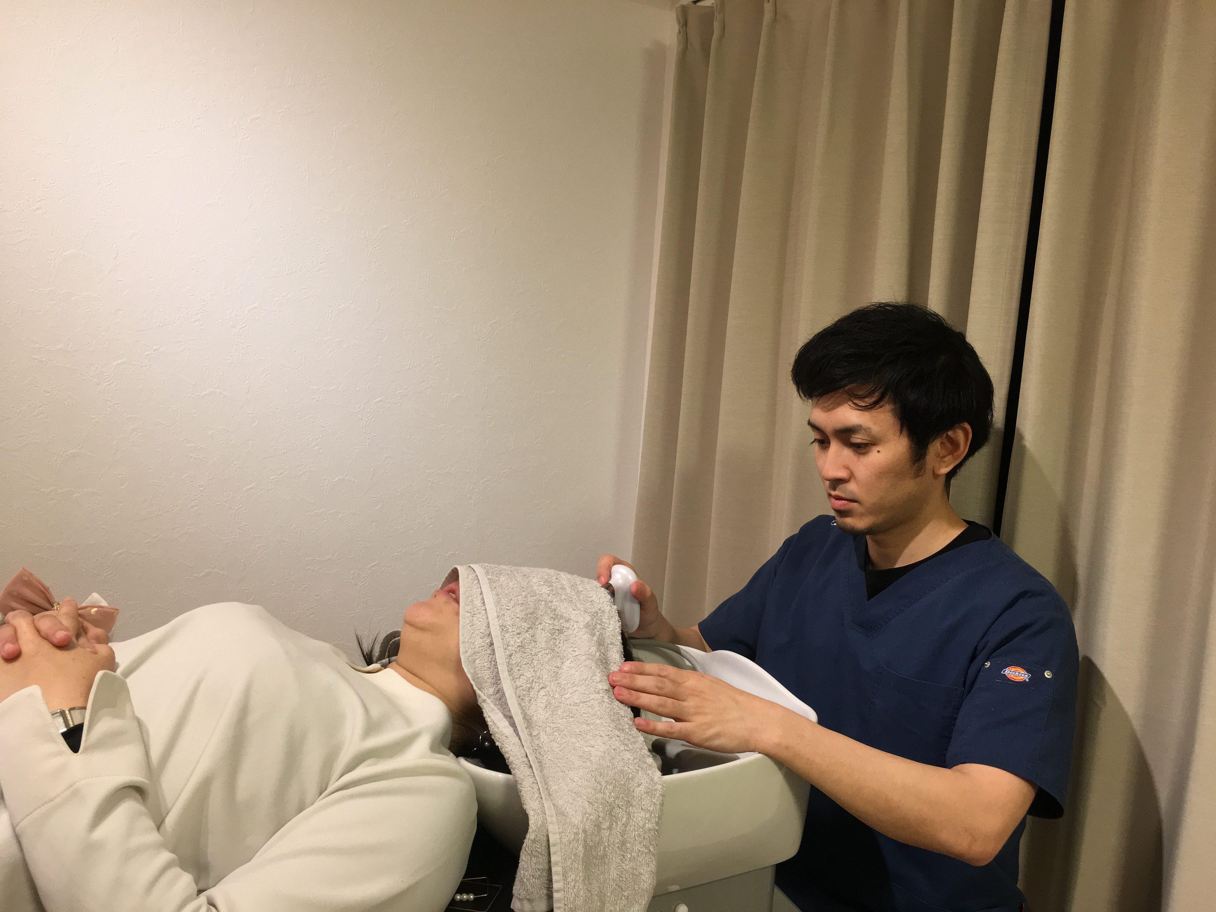 福岡薄毛発毛サロン憲キャビテーション